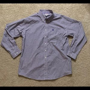 Cinch Mens Button Down Shirt Sz: XL Like New!